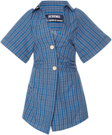 Jacquemus Plaid Mini Dress