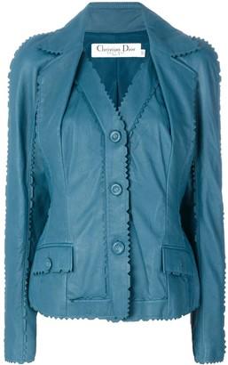 Christian Dior Pre-Owned Zig-Zag Edge Jacket