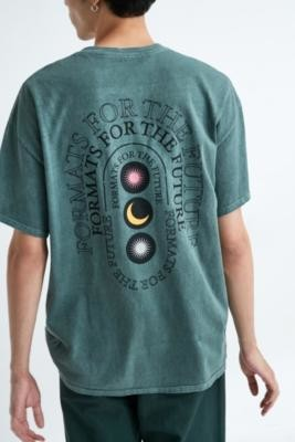 Urban Outfitters Formats For The Future T-Shirt - green XS at
