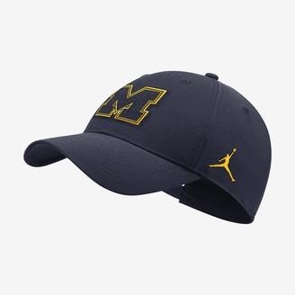Nike Adjustable Hat Jordan College Legacy91 Local (Michigan)
