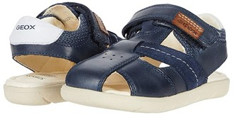 Geox Kids Sandal Alul 5 (Toddler) (Navy) Boy's Shoes