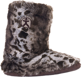 Bedroom Athletics Cole Faux Fur Boot Slippers, Multi