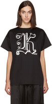 Christopher Kane Black 'Kane' T-Shirt