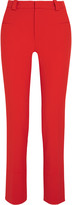 Roland Mouret Lacerta stretch-crepe slim-leg pants