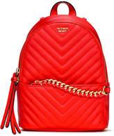 Victoria's Secret Victorias Secret Pebbled V-Quilt Small City Backpack