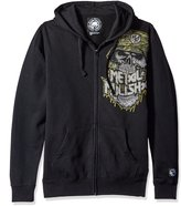 Metal Mulisha Men's Plus Size Jaw Zip up Hoody