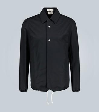 Bottega Veneta Twill nylon jacket