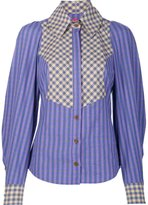 Vivienne Westwood checked shirt - women - Cotton - 40