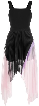 Iceberg Asymmetric Pleated Dress