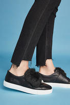 D.A.T.E Faux Fur Top Sneakers