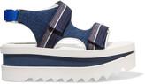 Stella McCartney Denim wedge sandals