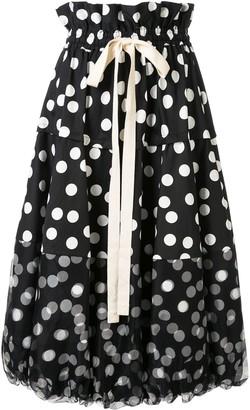 Lee Mathews Cherry Spot balloon skirt