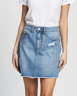 All About Eve Women's Skirts - Olsen Denim Skirt - Size One Size, 6 at The Iconic