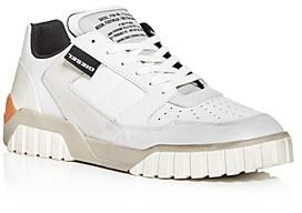 Diesel Men's S-Rua Distressed Leather Low-Top Sneakers