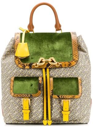 Tory Burch Jessa flap backpack
