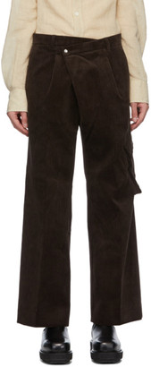 ANDERSSON BELL Brown Corduroy Trousers