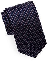 HUGO Striped Silk Tie