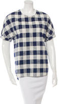 3.1 Phillip Lim Plaid T-Shirt