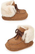 UGG Sparrow Suede Baby Bootie, Chestnut, Infant