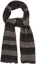 Denis Colomb Annapuna striped cashmere scarf
