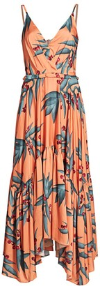 PatBO Printed Sleeveless Maxi Dress