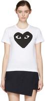 Comme des Garcons White Heart T-Shirt