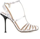Sergio Rossi strappy stiletto sandals