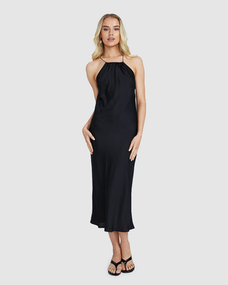 Alice In The Eve Women's Dresses - Hannah Halter Midi Dress - Size One Size, S at The Iconic