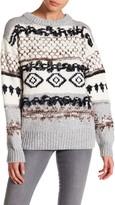 Current/Elliott The Boyfriend Mixed Knit Sweater