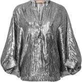 Michael Kors Slit Neck Tunic Top