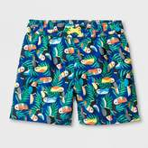 Cat & Jack Toddler Boys' Toucan Swim Trunks Blue