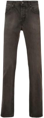 Yeezy Five-pocket Denim Jeans Black/brown