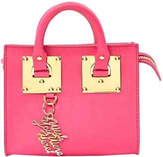 Sophie Hulme Pink Leather Handbags