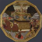 Oil Paintings Canvas Prints Perfect effect canvas ,the High Definition Art Decorative Canvas Prints of oil painting 'Workshop of Apollonio di Giovanni and Workshop of Marco del Buono Birth Tray The Triumph of 2 ', 30 x 30 inch / 76 x 77 cm is best for Bar gallery art and Home gallery art and Gifts