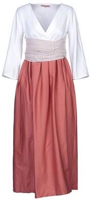 Rose' A Pois Long dress
