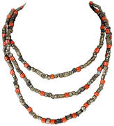 One Kings Lane Vintage African Trading Bead Necklace