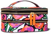 Sonia Kashuk Triple Train Case Cosmetic Bag Floral