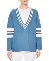Sandro Naya V-Neck Sweater