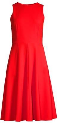 Trina Turk Bacall Sleeveless Fit & Flare Dress