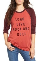 Obey Women's Long Live Rock & Roll Graphic Tee