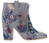 Laurence Dacade Pete Grey Denim Tropicale Booties