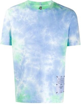Mcq Swallow tie-dye cotton T-shirt