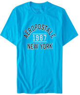 Aeropostale Mens Aero 1987 New York Logo Graphic T Shirt