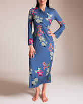 Grazia'Lliani Jersey Basico Wrap Gown