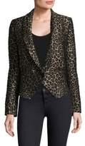 Smythe Anytime Leopard Blazer