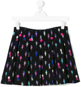 Armani Junior embroidered mini skirt