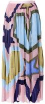 Mary Katrantzou 'stars' print long skirt