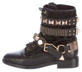 Ivy Kirzhner Embellished Ponyhair Boots