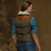 Denim & Supply Ralph Lauren Leather-Nylon Down Vest