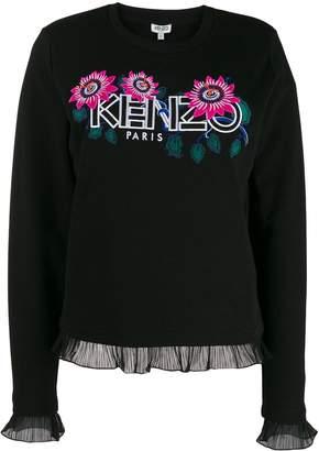 Kenzo floral logo jumper